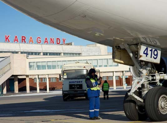 aeroport karagandy